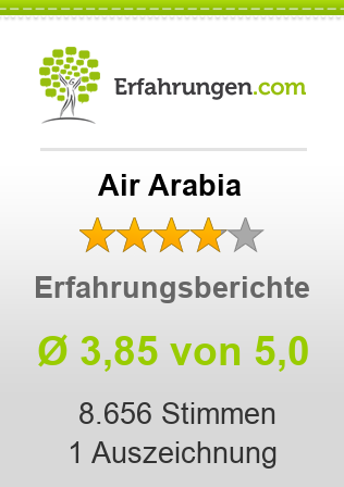 Air Arabia Erfahrungen