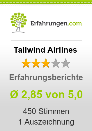 Tailwind Airlines Erfahrungen