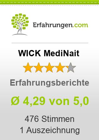 WICK MediNait Erfahrungen