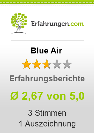 Blue Air Bewertungen