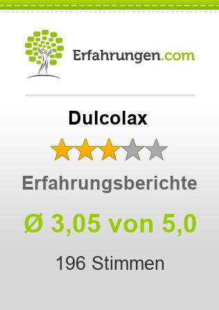 Dulcolax Erfahrungen