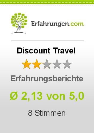 Discount Travel Erfahrungen
