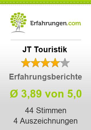 JT Touristik Erfahrungen