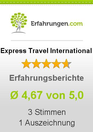 Express Travel International Erfahrungen