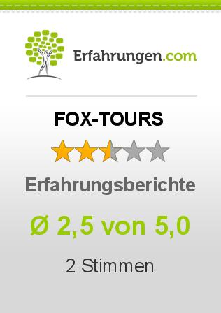 FOX-TOURS Erfahrungen