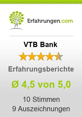 VTB Bank Erfahrungen