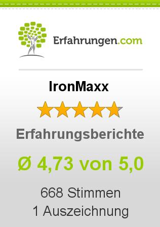 IronMaxx Erfahrungen