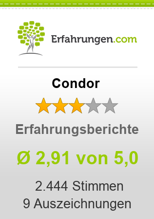 Condor Erfahrungen