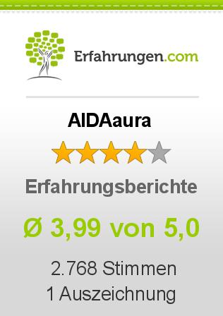 AIDAaura Erfahrungen