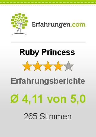 Ruby Princess Erfahrungen