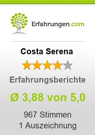 Costa Serena Erfahrungen