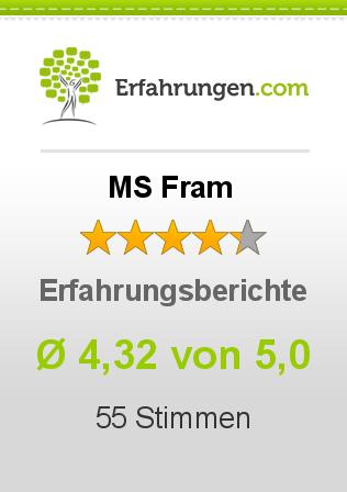 MS Fram Erfahrungen