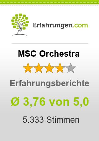 MSC Orchestra Erfahrungen
