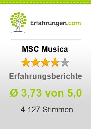 MSC Musica Erfahrungen
