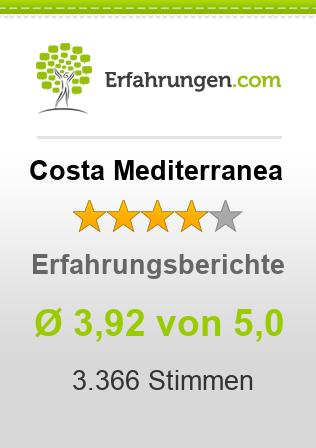 Costa Mediterranea Erfahrungen
