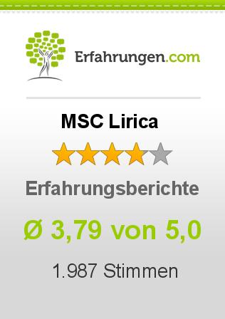 MSC Lirica Erfahrungen