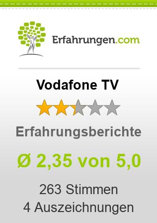 Vodafone TV Erfahrungen