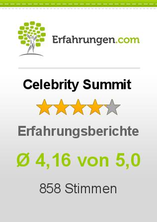 Celebrity Summit Erfahrungen