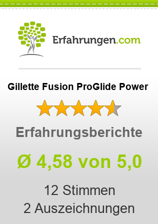 Gillette Fusion ProGlide Power Bewertungen
