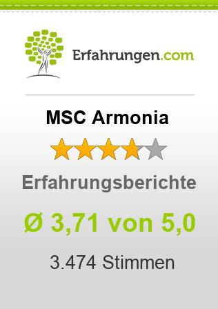 MSC Armonia Erfahrungen