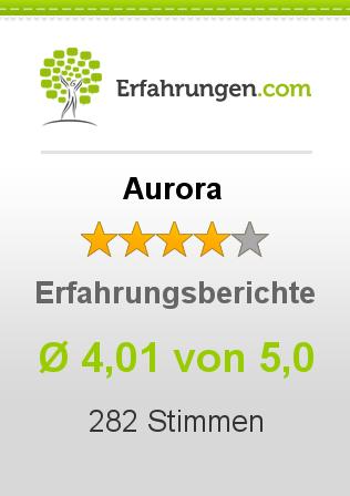 Aurora Erfahrungen