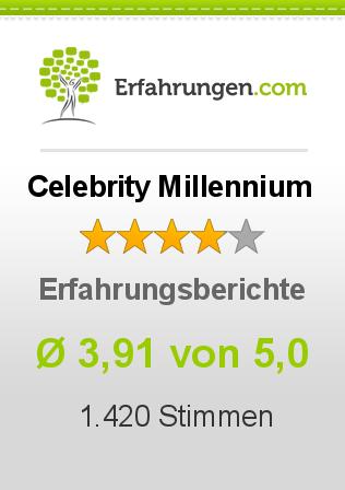 Celebrity Millennium Erfahrungen
