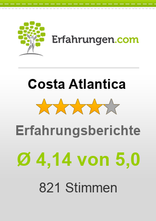 Costa Atlantica Bewertungen