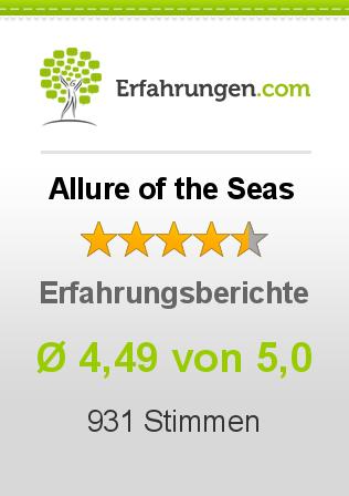 Allure of the Seas Erfahrungen