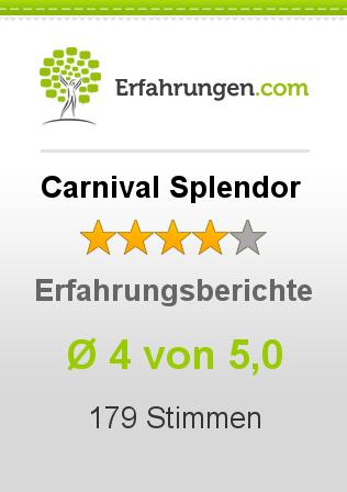 Carnival Splendor Erfahrungen