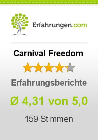 Carnival Freedom Erfahrungen