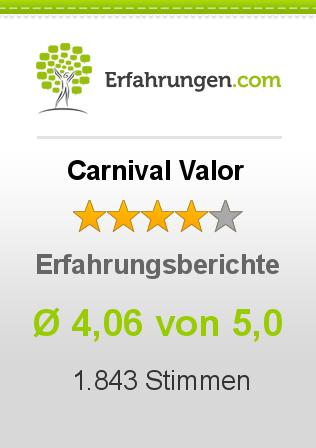 Carnival Valor Erfahrungen