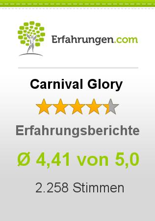 Carnival Glory Erfahrungen
