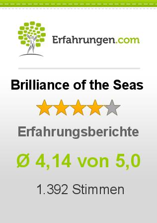 Brilliance of the Seas Erfahrungen