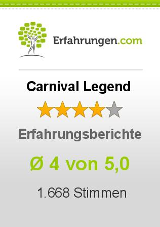 Carnival Legend Erfahrungen