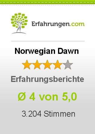 Norwegian Dawn Erfahrungen