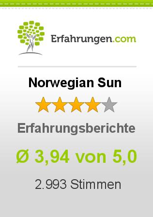 Norwegian Sun Erfahrungen