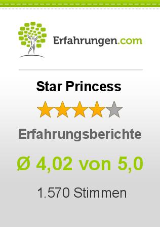 Star Princess Erfahrungen