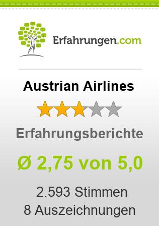 Austrian Airlines Erfahrungen