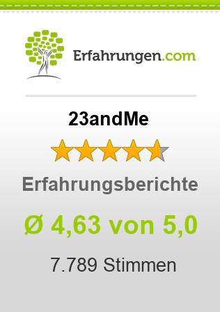 23andMe Erfahrungen