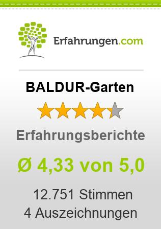 BALDUR-Garten Erfahrungen