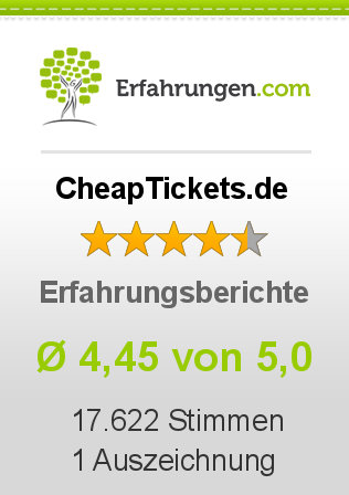 CheapTickets.de Bewertungen