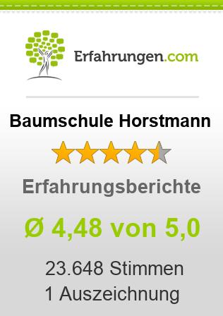 Baumschule Horstmann Erfahrungen