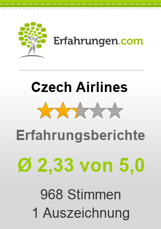 Czech Airlines Bewertungen