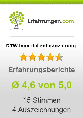 DTW-Immobilienfinanzierung Erfahrungen