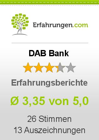 DAB Bank Erfahrungen