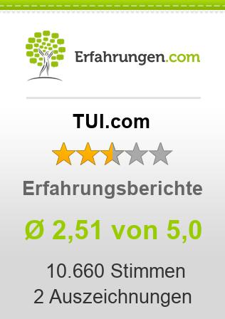 TUI.com Erfahrungen