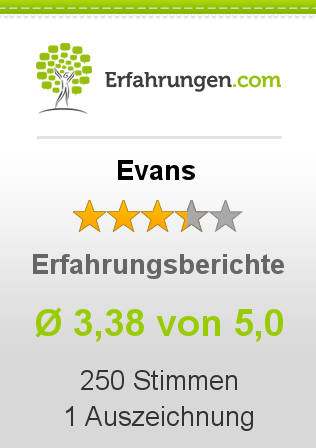 Evans Erfahrungen