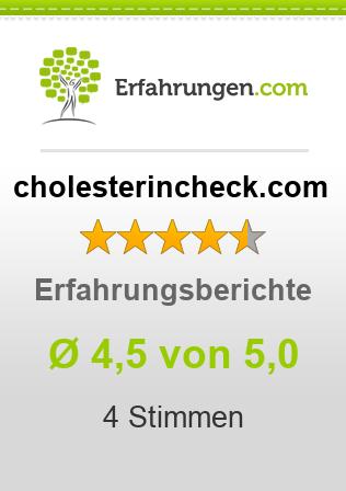 cholesterincheck.com Erfahrungen