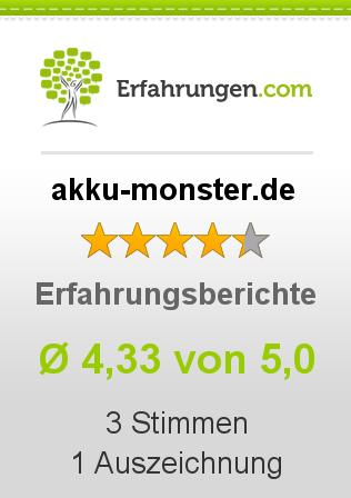 akku-monster.de Erfahrungen