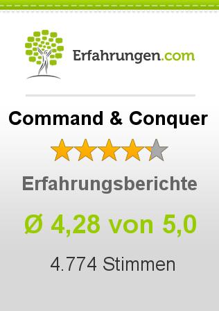 Command & Conquer Erfahrungen